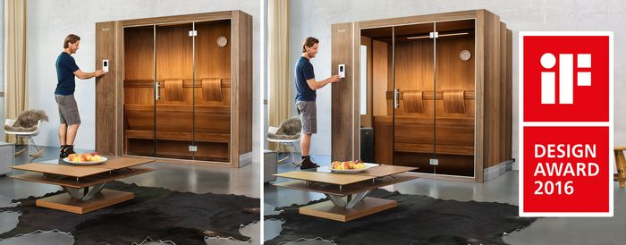 sauna und spa auszeichnungen und awards. Black Bedroom Furniture Sets. Home Design Ideas