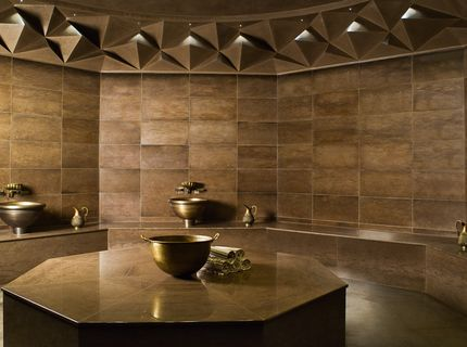 Sauna-, Spa- und Wellness-Referenzen: The Istanbul Edition; Spa-Landschaft