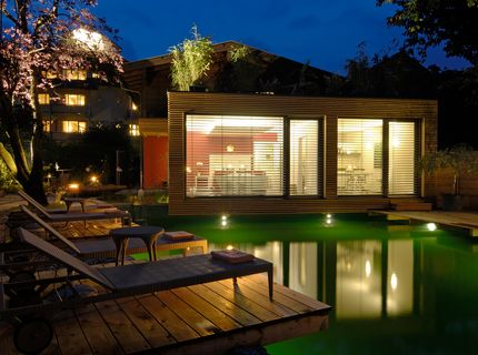 Sauna-, Spa- und Wellness-Referenzen: Hotel Moserhof; Pool