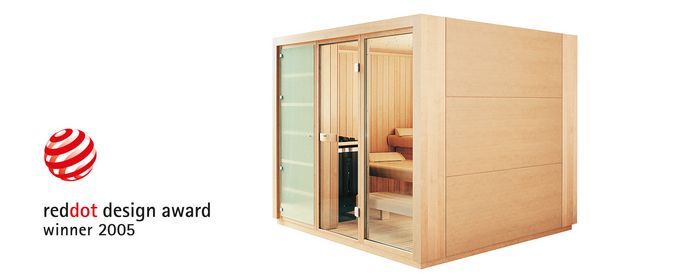 Sauna PROTEO reddot German Design Award