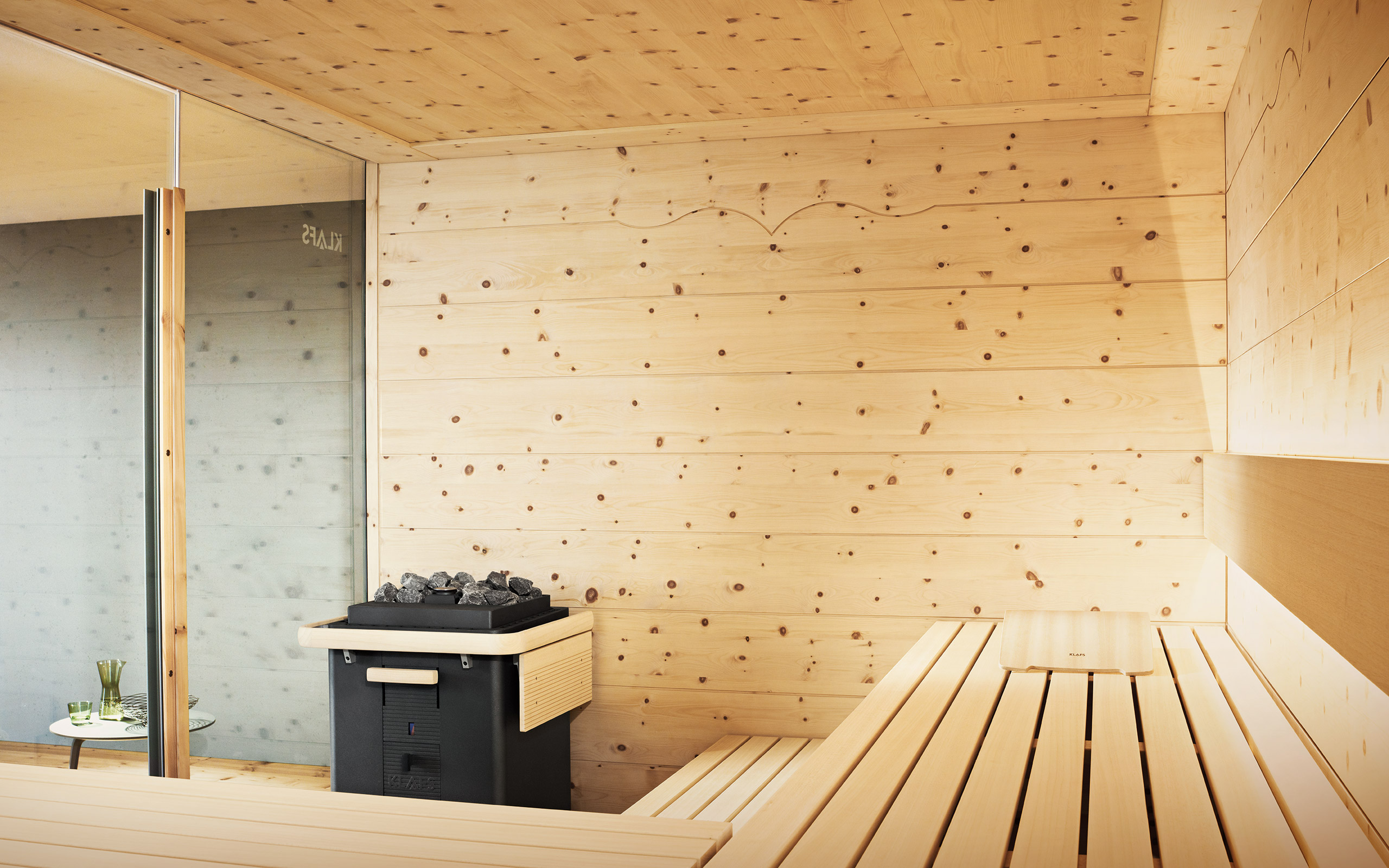 klafs sauna chalet alpenl ndischer charme. Black Bedroom Furniture Sets. Home Design Ideas