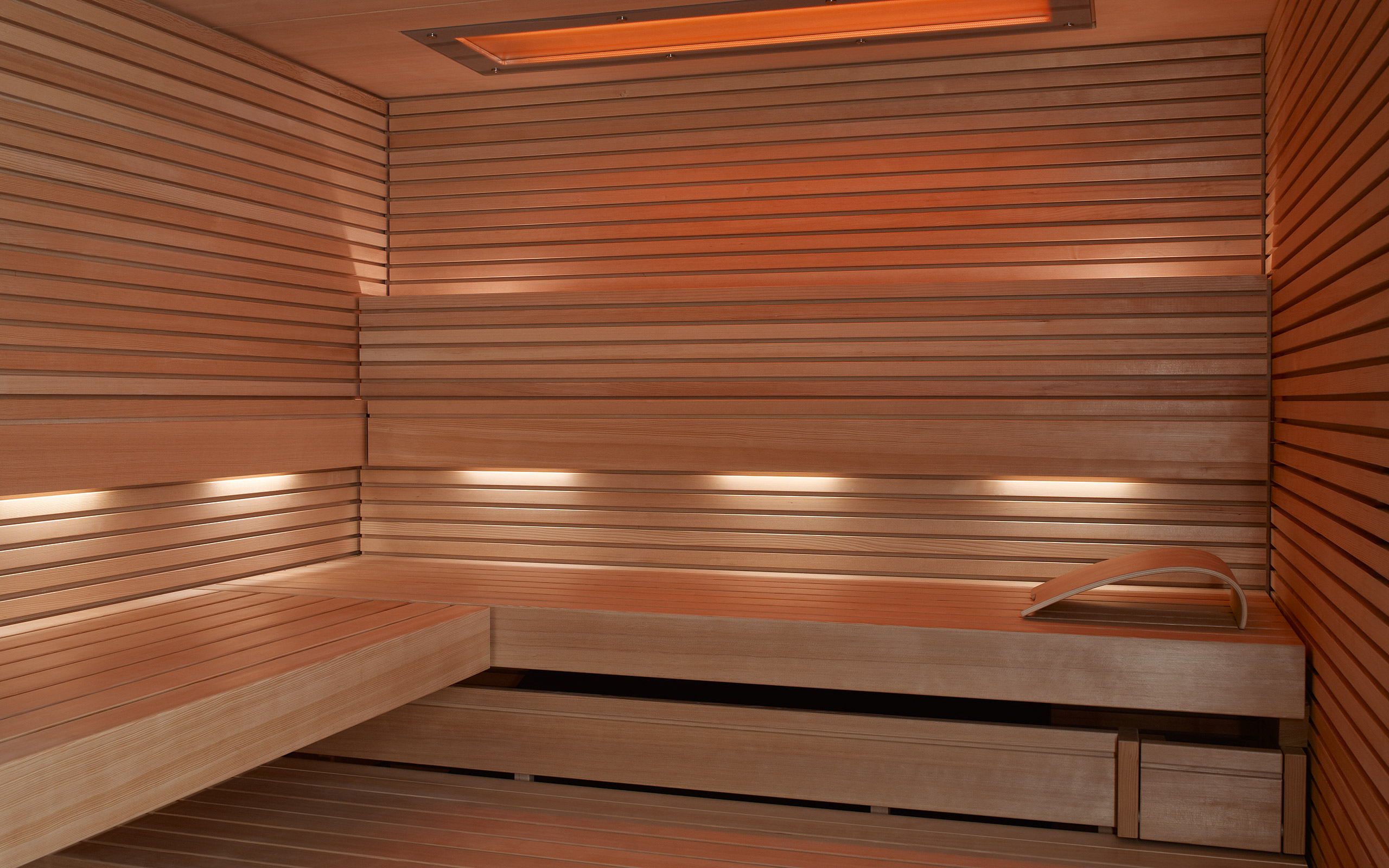 sauna pure die schlichte elegante sauna. Black Bedroom Furniture Sets. Home Design Ideas